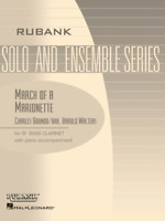 March of a Marionette Bb Bass Clarinet Solo with Piano - Grade 2