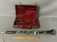 Vintage Warner Clarinet with Selmer Goldentone 4 Mouthpiece in Case Woodwind