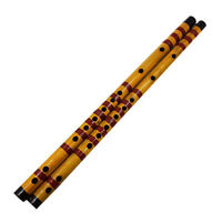 Traditional Long Bamboo Flute Clarinet Student Musical Instrument 7 Hole 42  IH