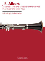 24 Varied Scales And Exercises For Clarinet in All Major and Minor Keys