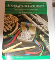 STANDARD OF EXCELLENCE  BAND METHOD  BOOK 3 BASS CLARINET W23CLB NEW