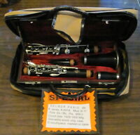 SELMER  Paris Mod. B-17, Bb soprano clarinet, K series, Grenadilla wood vintage.