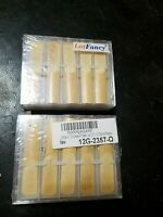 2x 20 Lot Fancy Clarinet Bamboo Reeds, Strength 2 1/2, New in Box