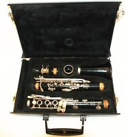 LeBlanc Vito USA 7212 Reso-Tone 3 Bb Student Clarinet and Case Needs Work AS-IS