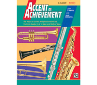 Accent on Achievement Book 3 - Clarinet <18056> Alfred Music
