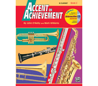 Accent on Achievement Book 2 - Clarinet <18258> Alfred Music