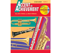 Accent on Achievement Book 2 - Bass Clarinet <18260> Alfred Music