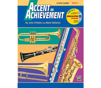 Accent on Achievement Book 1 - Bass Clarinet <17086> Alfred Music