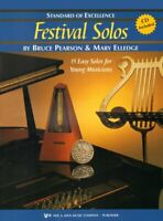 Standard of Excellence Festival Solos Book 2 w/CD - Bass Clarinet <W37CLB> Kjos