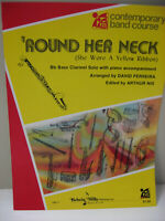 Round Her Neck Yellow Ribbon B Flat Bass Clarinet Solo with Piano Sheet Music