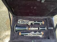Vintage Evette Buffet Crampon Clarinet with Pro Tec case West Germany