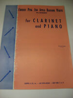 Louiguy Cherry Pink and Apple Blossom White for Clarinet and Piano Sheet Music