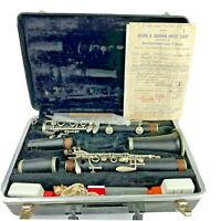 Selmer Signet Special Clarinet With Case Cleaner And Oil