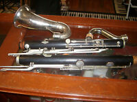 LEBLANC  NOBLET  BASS CLARINET WOOD COMPLETLY RECONDITIONED