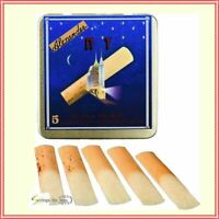 Alexander Reeds New York Clarinet Reeds Tin of 5, Strength 2.5  Made in France