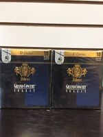 Grand Concert Select Eb Clarinet Reeds  Strength 4 1/2, bundle pack of 2