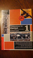 Clarinet.  Compositions for Bb Clarinet by Graham Lyons.