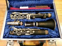 Selmer Paris France K Series Bb Clarinet Serial Number K4687 With HS Mouthpiece