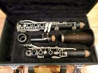 Selmer Paris France K Series Bb Clarinet Serial Number K9886 With HS* Mouthpiece