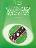 Christmas Favorite Play Along Clarinet Songbook w CD Frosty Jingle Bell Rock