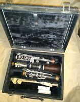 Evette wood intermediate Clarinet with case, Made in W Germany, good cond