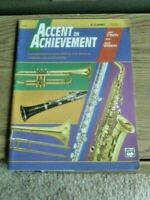 Accent on Achievement for Bb Clarinet  Comprehensive Band Method Book 1