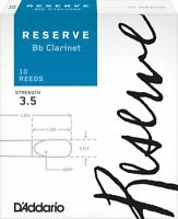 Reserve Bb Clarinet Reeds, 3.5, 10-Pack