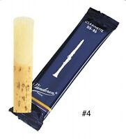 VAND Bb CLAR REED #4 - Includes 2 Reeds