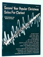 Second Year Popular Christmas Solos For Clarinet Level 2 Volume 1. Belwin (1988)