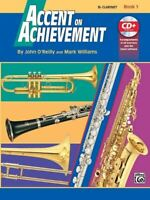 Alfred's Accent on Achievement Bb Clarinet Book 1