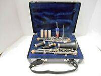 SELMER Resonite CLARINET w/ Hard Case Reeds & Cleaning Brushes POO42906