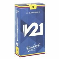 Vandoren CR803  Bb Clarinet V21 Reeds Strength 3, Box of 10