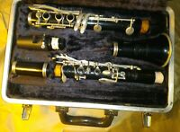 Selmer Bundy Resonite USA Clarinet with Case, Good Condition but taped-corks