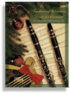Traditional Christmas Duets for Clarinet MUSIC BOOK with PIANO CD ACCOMPANIMENT