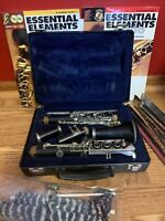 Selmer Clarinet USA 1400 with Case, Music Stand, 6 New Reeds and Extras