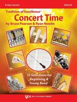 Tradition Of Excellence Concert Time Bass Clarinet MUSIC BOOK BRAND NEW ON SALE