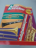 Alfred Accent On Achievement B flat clarinet Book 2 book with unopened CD