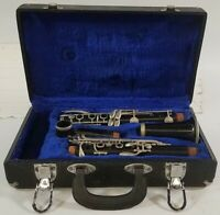 Normandy Paris Intermediate-Level wood Clarinet, made in France, Good condition
