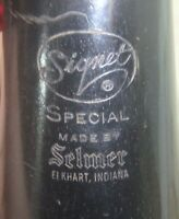 Intermediate Selmer Signet Special Wood Clarinet w/ case, good condition, USA