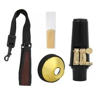 4 In 1 Alto Saxophone Sax Clarinet Reeds Mute Silencer Mouthpiece Cap Neck Strap