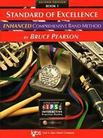 KJOS STANDARD OF EXCELLENCE ENHANCED CLARINET MUSIC BOOK 1 W/ONLINE ACCESS-NEW!!