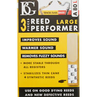 BG A80L Large Reed Saver (3 Pack) for Tenor/ Baritone Saxophone or Bass Clarinet
