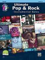 ULTIMATE POP & ROCK INSTRUMENTAL SOLOS-CLARINET-MUSIC BOOK/CD BRAND NEW ON SALE!