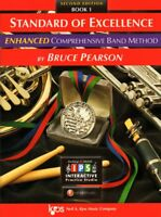 KJOS-STANDARD OF EXCELLENCE ENHANCED-MUSIC BOOK 1-BASS CLARINET-2ND EDITION-NEW!