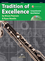 TRADITION OF EXCELLENCE-BASS CLARINET MUSIC BOOK/INTERNET LEVEL 3 NEW ON SALE!!