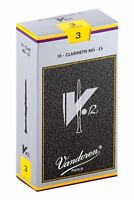 Vandoren CR613 Eb Clarinet V 12 Reeds Strength No. 3, Box of 10