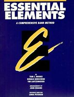 ESSENTIAL ELEMENTS FOR BAND ORIGINAL VERSION MUSIC BOOK 2 FOR BASS CLARINET NEW