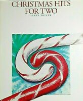 CHRISTMAS HITS FOR TWO EASY DUETS FOR CLARINETS MUSIC BOOK 15 SELECTIONS NEW
