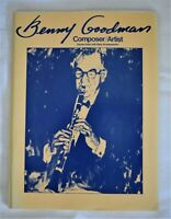 Benny Goodman Composer/Artist Clarinet Solos with Piano Accompaniment