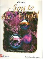 JOY TO THE WORLD MUSIC BOOK FOR CLARINET 28 EASY CHRISTMAS DUETS SONGBOOK NEW